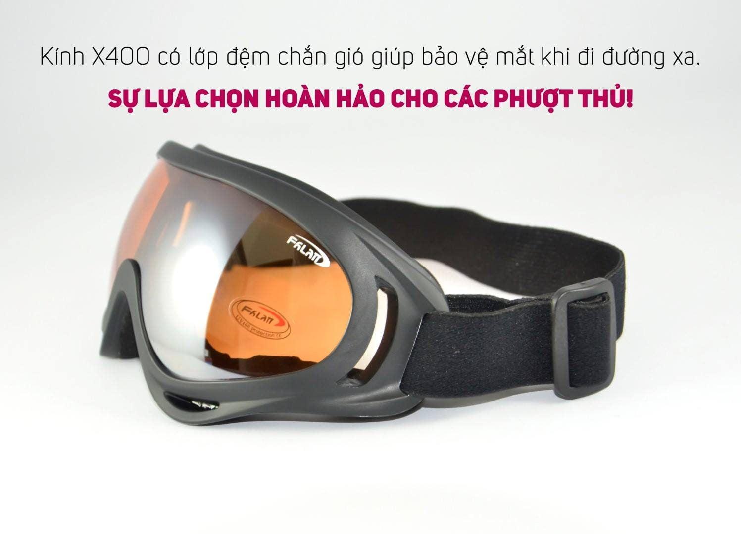 Kính dây đeo mũ bảo hiểm - UV400