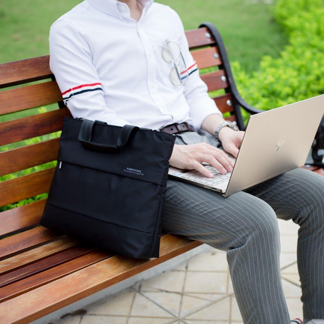 Túi xách Macbook doanh nhân chống sốc 3D - KINGSONS - Professional