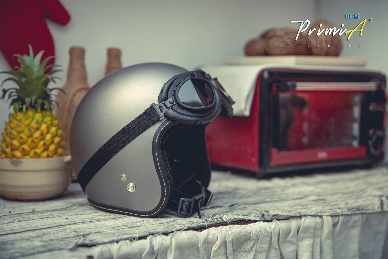 Mũ bảo hiểm 3/4 cao cấp - PrimiA Xtreme